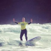 Beginners Surf Lessons in Madeira Island