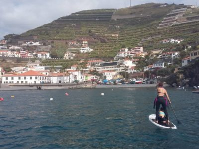 A full day of water activities: Surf and Stand up Paddle in Madeira Island